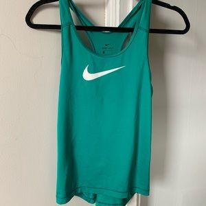 Teal Nike Tank